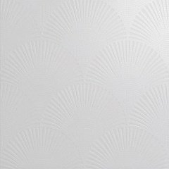 "Decoro ""pavone"" on matt white background 60.00 60.00"